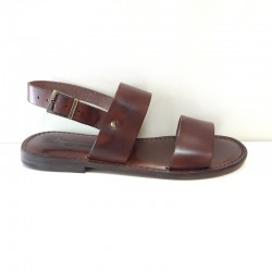 L Angolo Del Cuoio.L Angolo Del Cuoio Sandalo Uomo 7019 Testa Di Moro